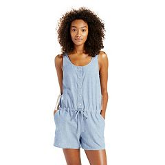 Women's Levi's Sleeveless Denim Romper