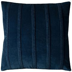 Rizzy Home Pintuck Stripes Throw Pillow