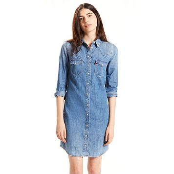 Women's Levi's Western Jean Shirtdress