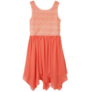 Girls 7-16 Speechless Handkerchief Hem Tank Dress