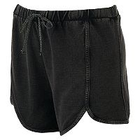 madden NYC Juniors' Plus Size French Terry Shorts