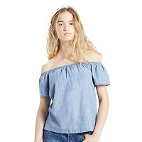 Women's Levi's Denim Off-the-Shoulder Top