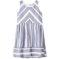 Girls 7-16 Speechless Chevron Dress