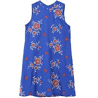 Girls 7-16 Speechless Mockneck Embroidered Dress
