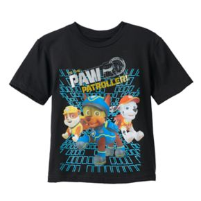 Boys 4-7 Paw Patrol Chase, Rubble & Marshall Paw Patroller Graphic Tee
