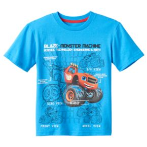 "Boys 4-7 Blaze and the Monster Machines ""Science & Technology"" STEM Graphic Tee"