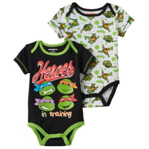 Baby Boy Teenage Mutant Ninja Turtle 2-pk. Bodysuits