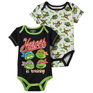 Baby Boy Teenage Mutant Ninja Turtle 2-pk. Bodysuits