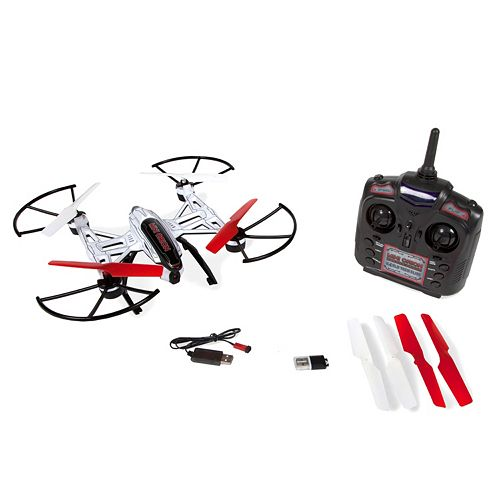 Mini Orion Spy Drone 2.4GHz 4.5CH Quadcopter Camera Drone by World Tech Toys