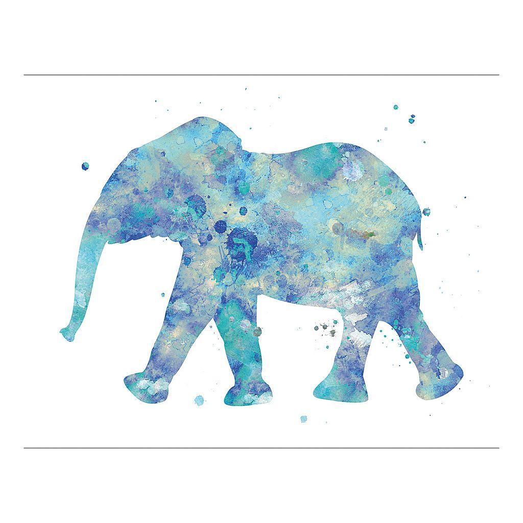 Elephant 13 Canvas Wall Art