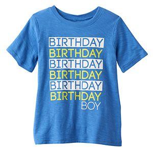 Boys 4-10 Jumping Beans® Birthday Boy Graphic Tee