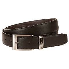 Men's Nike Black & Brown Reversible Leather Belt