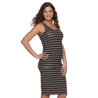 Maternity a:glow Ruched Tank Dress