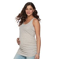 Maternity a:glow Ruched Tank