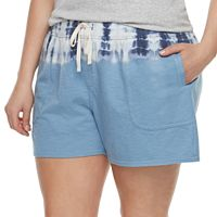 Plus Size SONOMA Goods for Life™ Beach Fleece Shorts