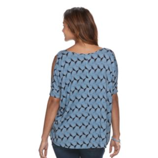 Maternity a:glow Cold-Shoulder Tee