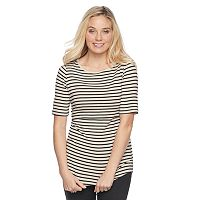 Maternity a:glow Popover Nursing Tee