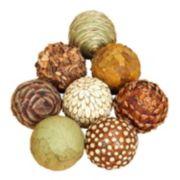 Coastal Living Assorted Balls Vase Filler 8-piece Set