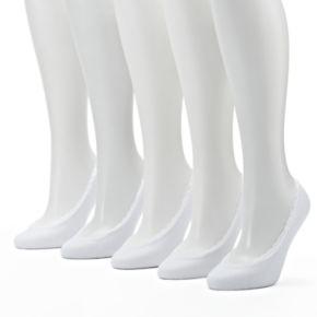 Women's Keds 5-pk. Lace Trim Extra Low Cut Non-Slip Liner Socks