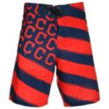 Men's Cleveland Indians Diagonal Flag Boardshorts