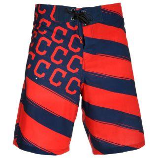 Men's Cleveland Indians Diagonal Flag Boardshorts
