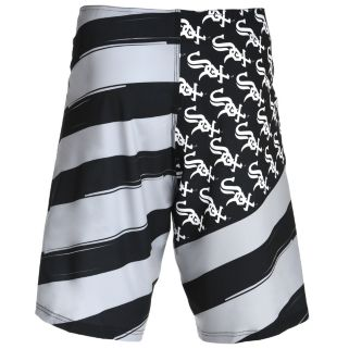 Men's Chicago White Sox Diagonal Flag Boardshorts