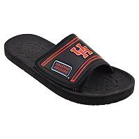 Adult Houston Cougars Slide Sandals