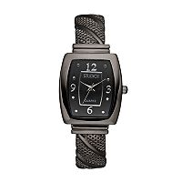 Studio Time Women's Textured Twist Cuff Watch