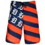 Men's Detroit Tigers Diagonal Flag Boardshorts