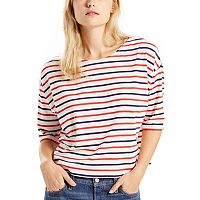 Women's Levi's Striped Boatneck Top