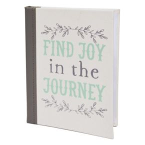 "New View ""Journey"" Faux-Leather Photo Album"