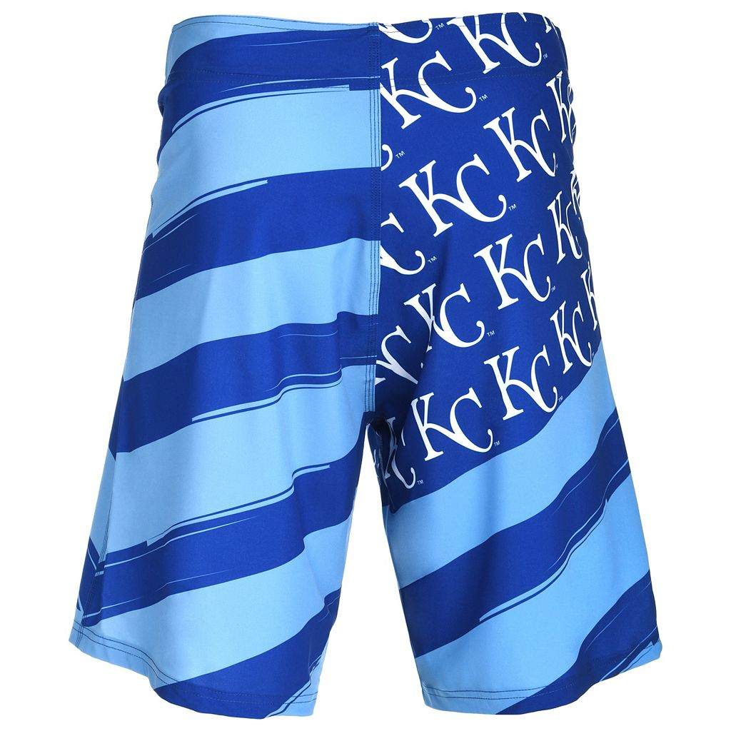 Men's Kansas City Royals Diagonal Flag Boardshorts