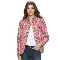 Petite Napa Valley Reversible Quilted Jacket