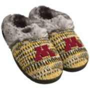 Women's Forever Collectibles Minnesota Golden Gophers Peak Slide Slippers