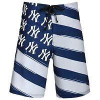 Men's New York Yankees Diagonal Flag Boardshorts