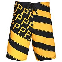 Men's Pittsburgh Pirates Diagonal Flag Boardshorts