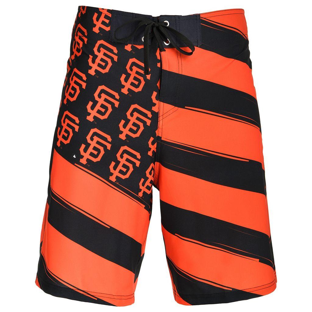 Men's San Francisco Giants Diagonal Flag Boardshorts
