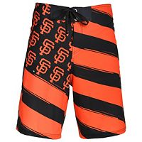 Men's San Francisco Giants Diagonal Flag Boardshorts