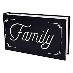 New View 'Family' Faux-Leather Photo Album