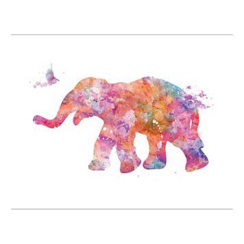 Elephant 8 Canvas Wall Art