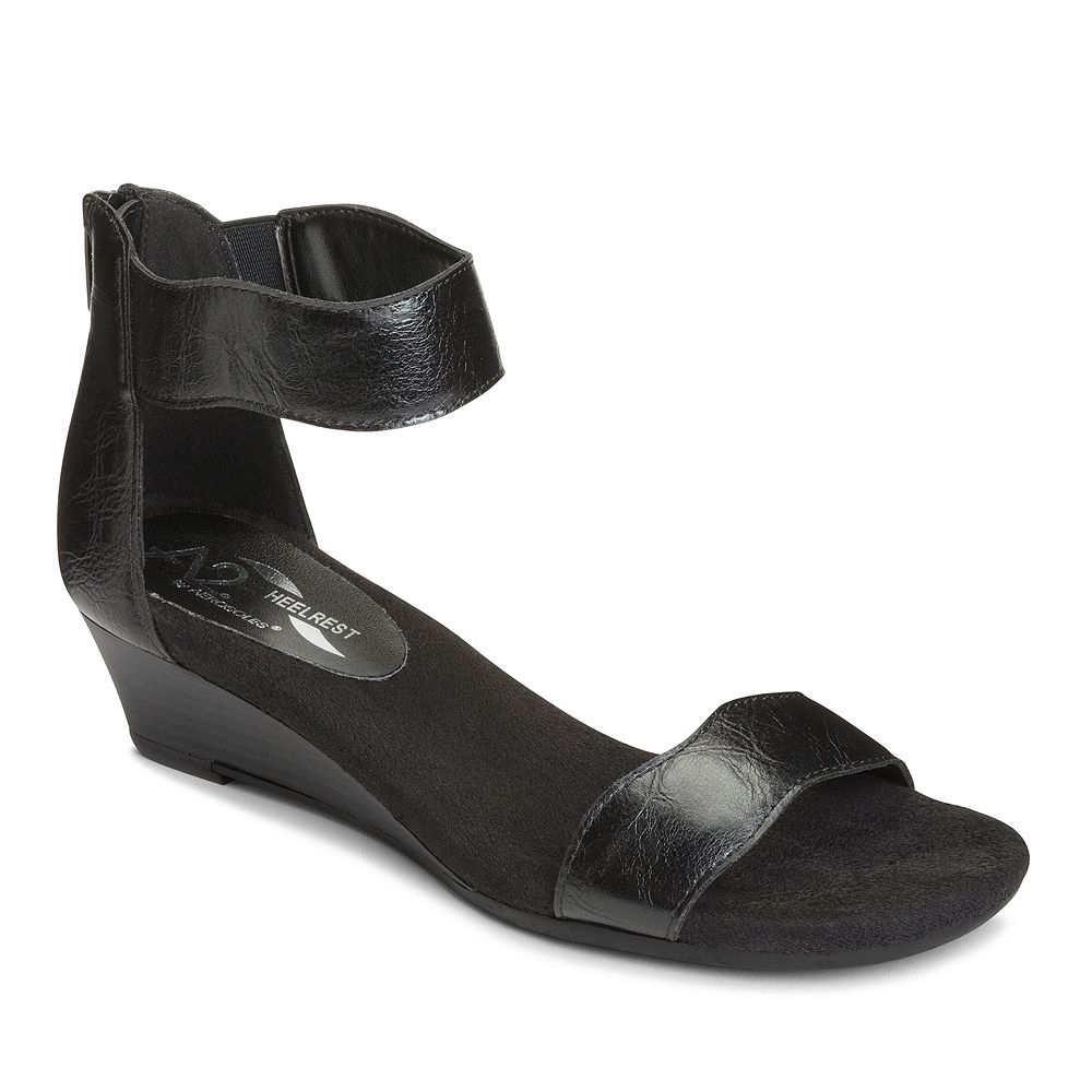 A2 by Aerosoles Yet Around Womens Wedge Sandals