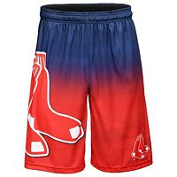 Men's Boston Red Sox Big Logo Gradient Training Shorts
