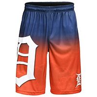 Men's Detroit Tigers Big Logo Gradient Training Shorts
