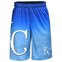 Men's Kansas City Royals Big Logo Gradient Training Shorts