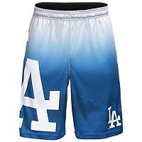 Men's Los Angeles Dodgers Big Logo Gradient Training Shorts