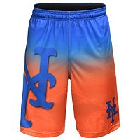 Men's New York Mets Big Logo Gradient Training Shorts