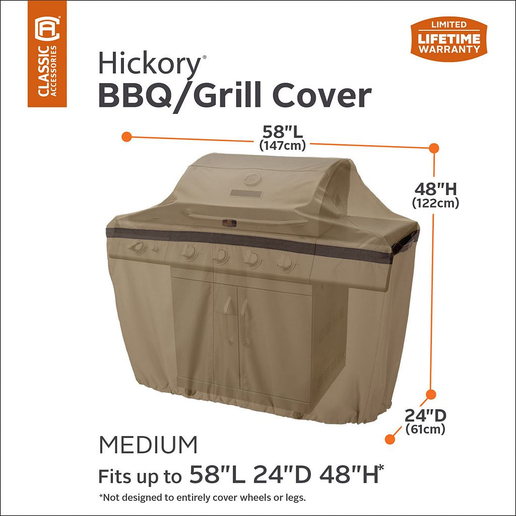 Hickory Medium Patio Grill Cover