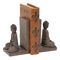 Buddha Bookends 2-piece Set