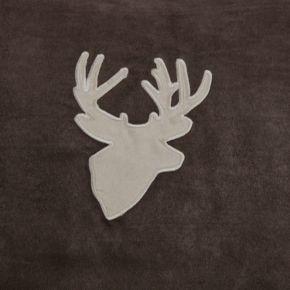 Woolrich Deer Faux Suede Window Valance