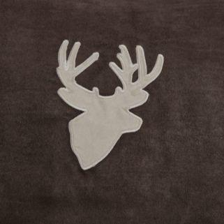 Woolrich Deer Faux Suede Valance